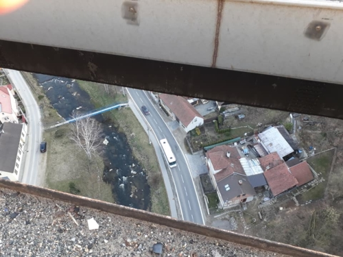Momentky z tubusu mostu – duben 2019